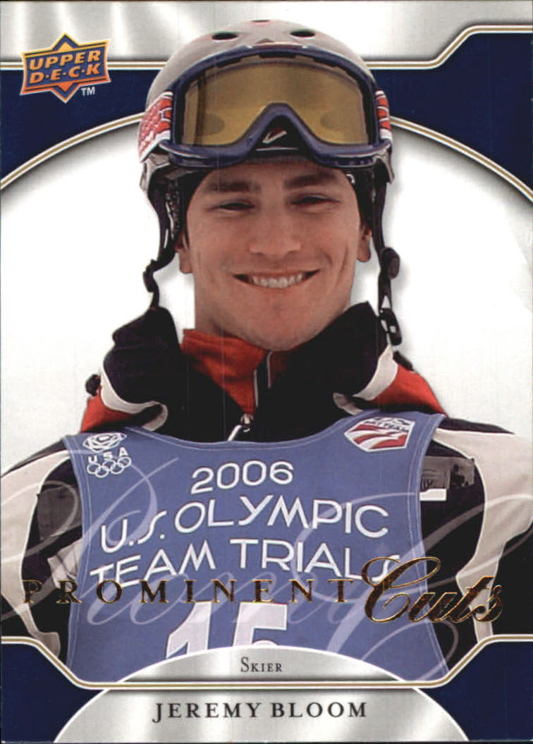 2009 Upper Deck Prominent Cuts #36 Jeremy Bloom