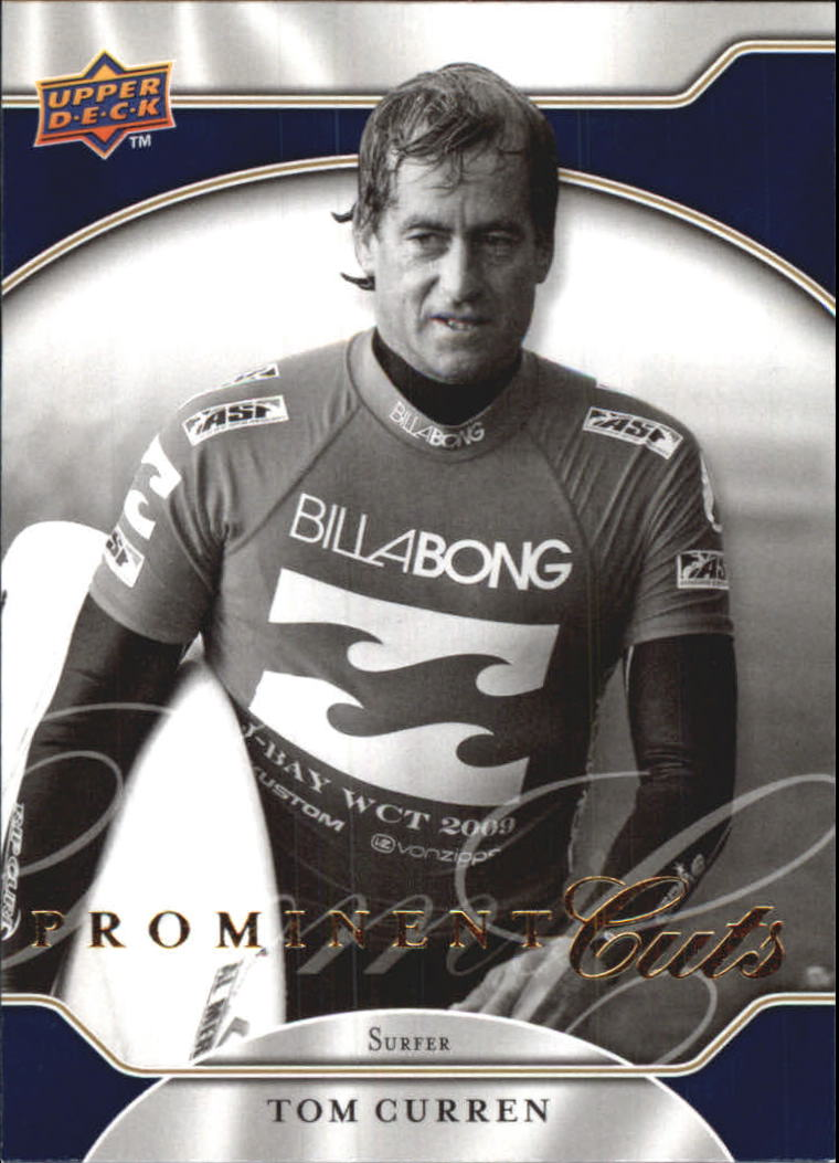 2009 Upper Deck Prominent Cuts #40 Tom Curren