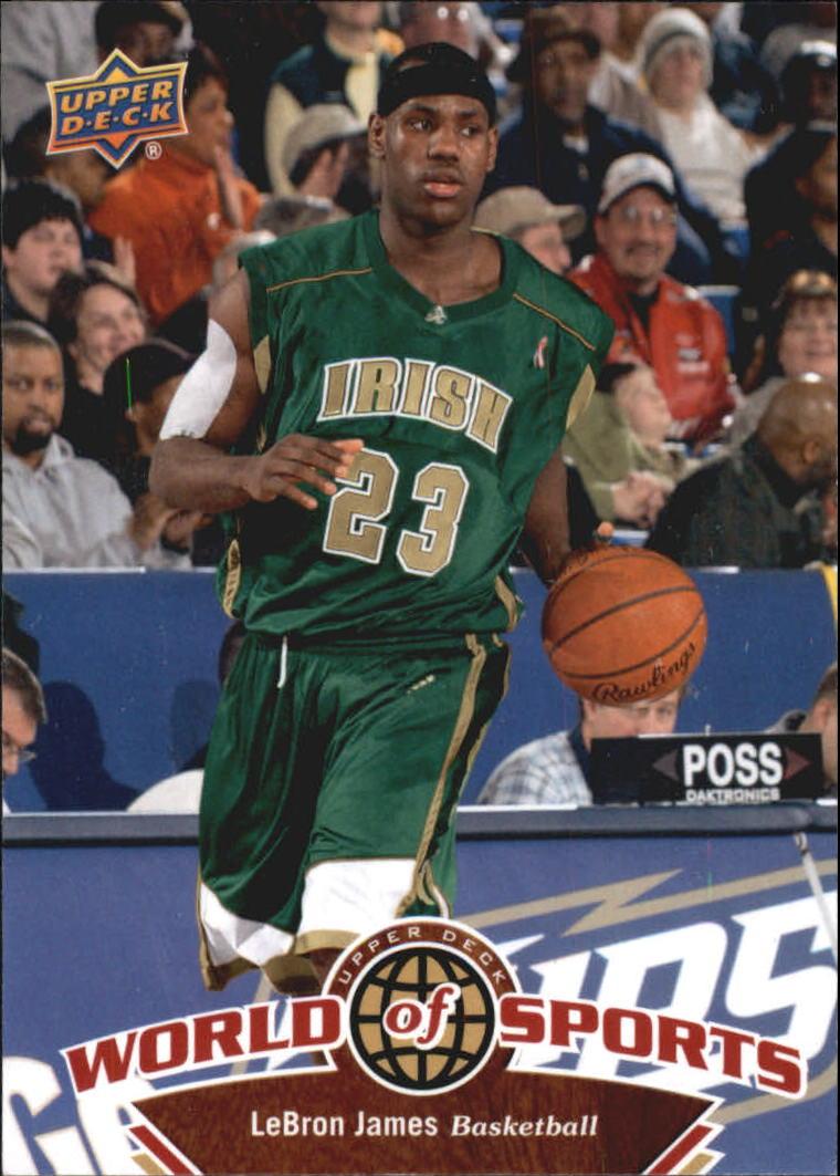 2010 Upper Deck World of Sports #1 LeBron James