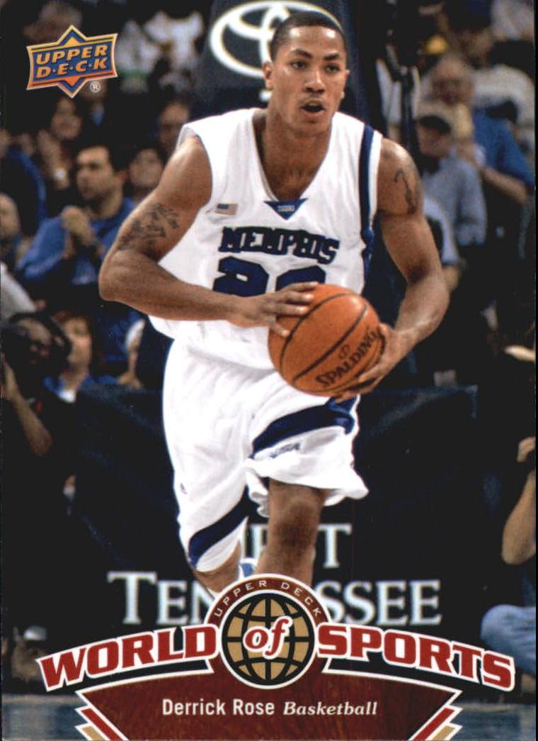 2010 Upper Deck World of Sports #5 Derrick Rose