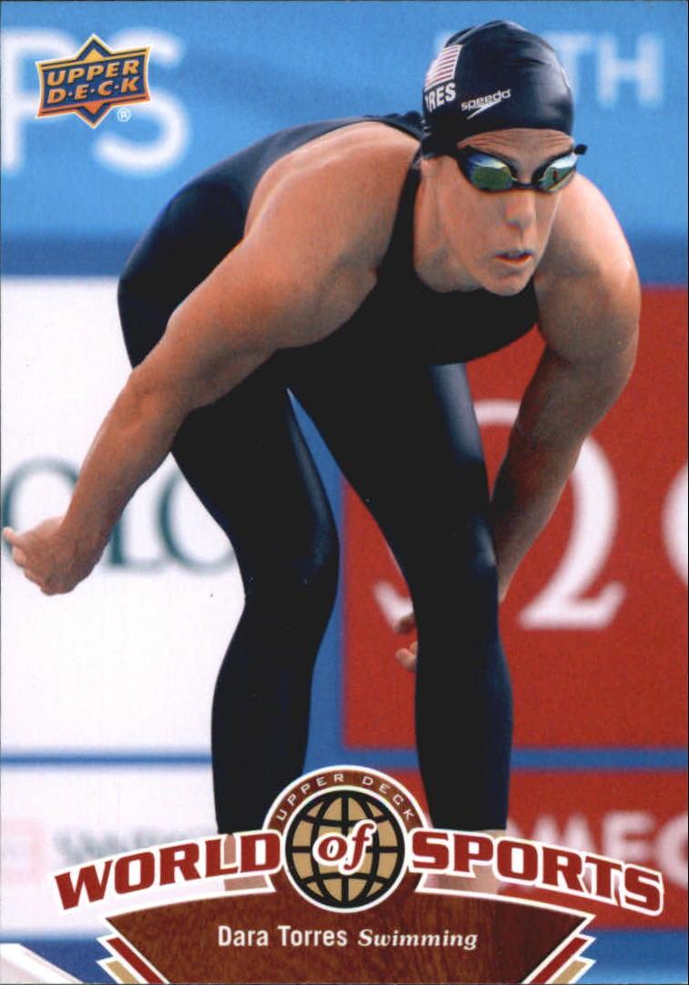 2010 Upper Deck World of Sports #202 Dara Torres