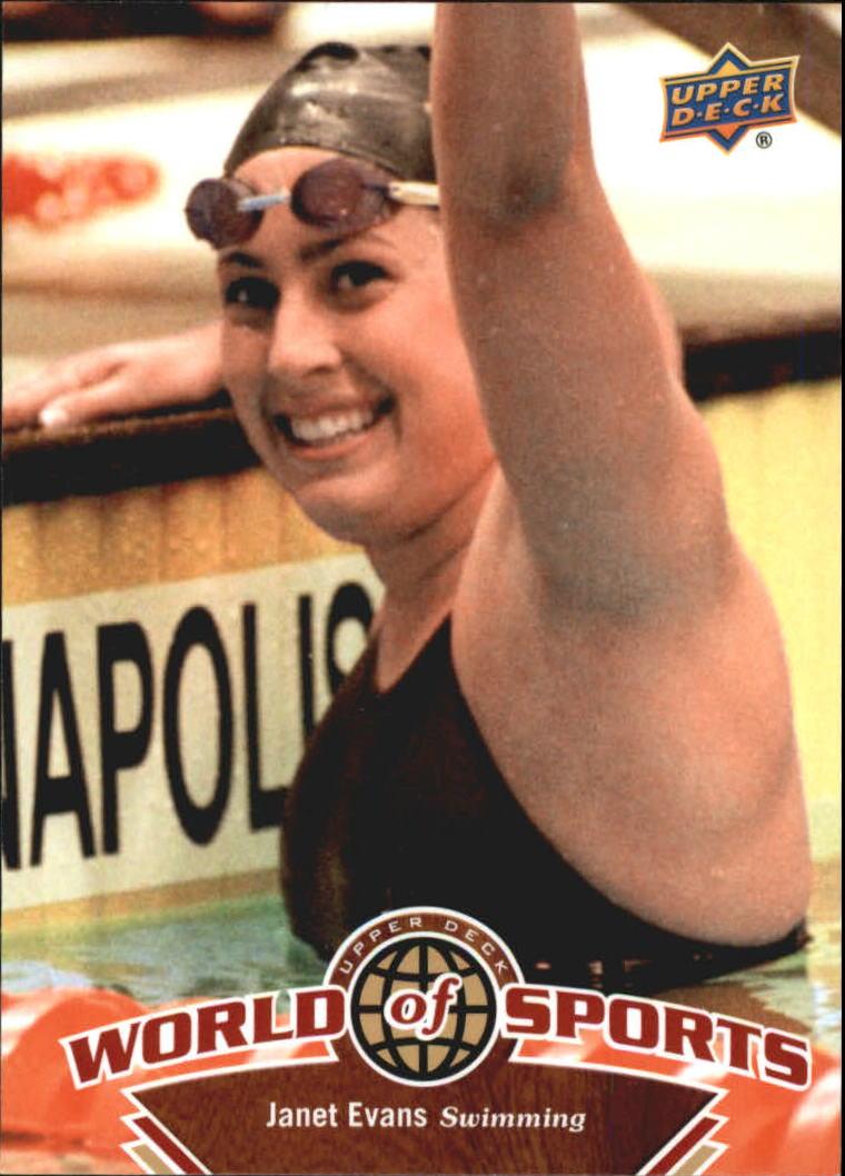 2010 Upper Deck World of Sports #206 Janet Evans