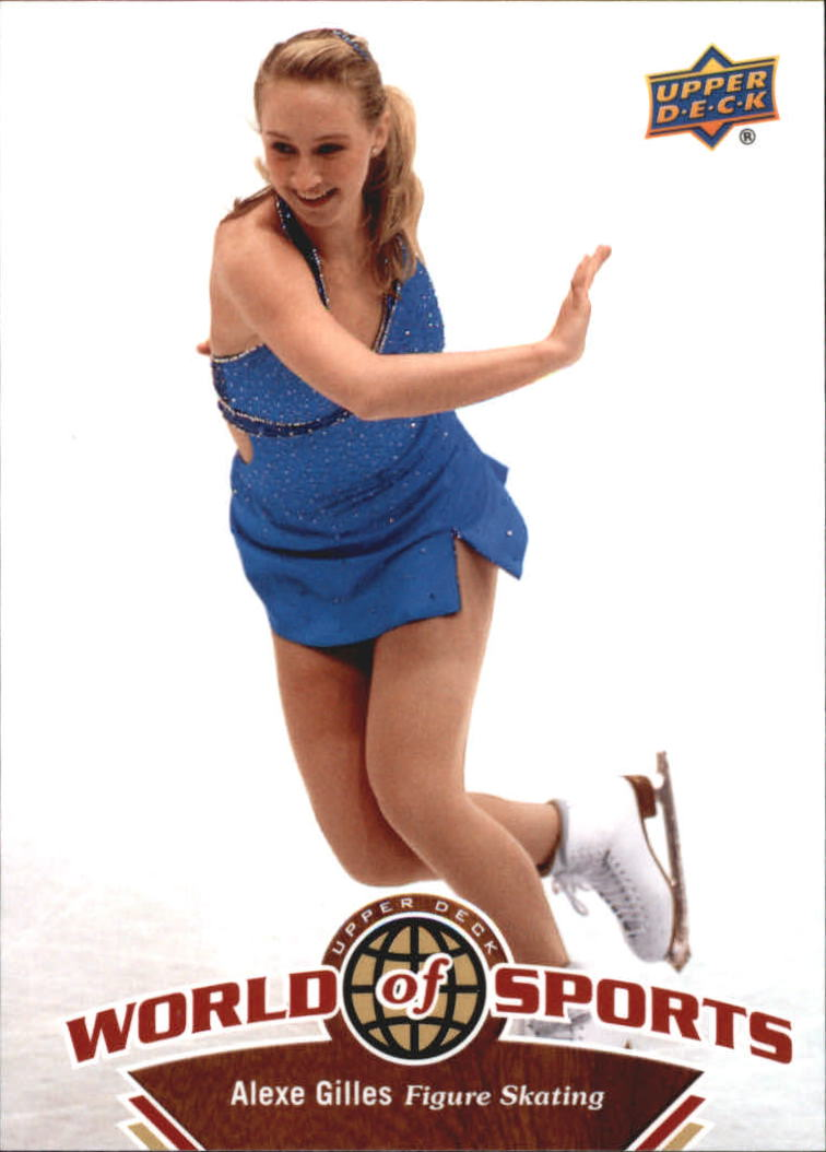 2010 Upper Deck World of Sports #212 Alexe Gilles