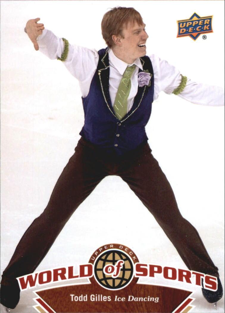2010 Upper Deck World of Sports #219 Todd Gilles
