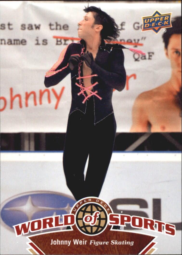 2010 Upper Deck World of Sports #220 Johnny Weir