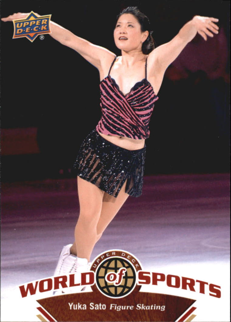 2010 Upper Deck World of Sports #231 Yuka Sato