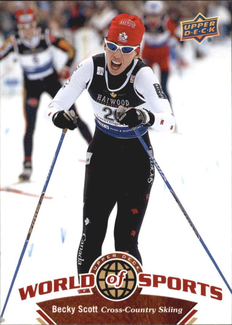 2010 Upper Deck World of Sports #235 Becky Scott