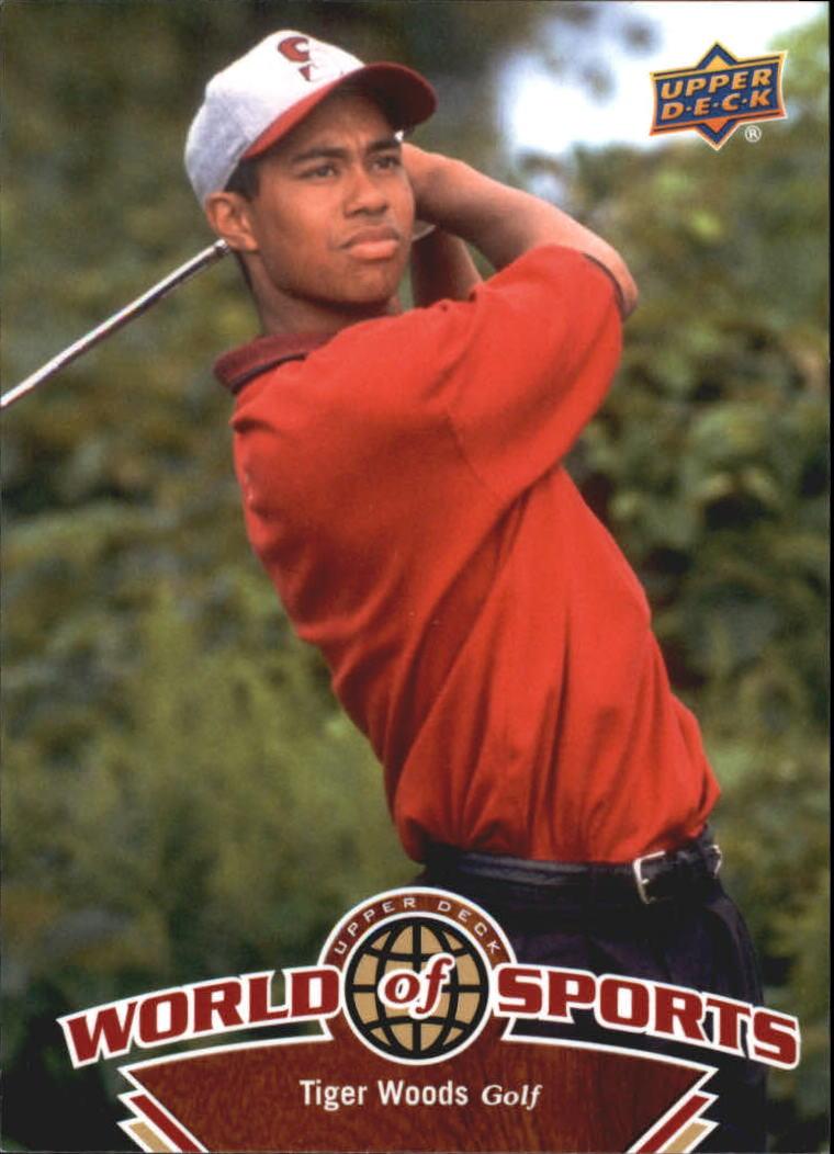 2010 Upper Deck World of Sports #250 Tiger Woods