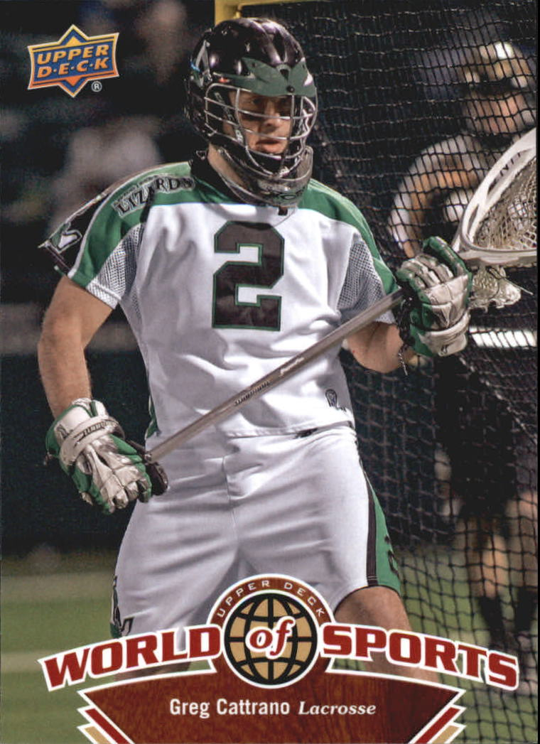 2010 Upper Deck World of Sports #258 Greg Cattrano