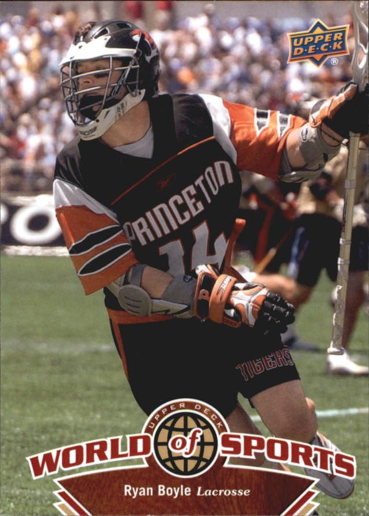 2010 Upper Deck World of Sports #288 Ryan Boyle