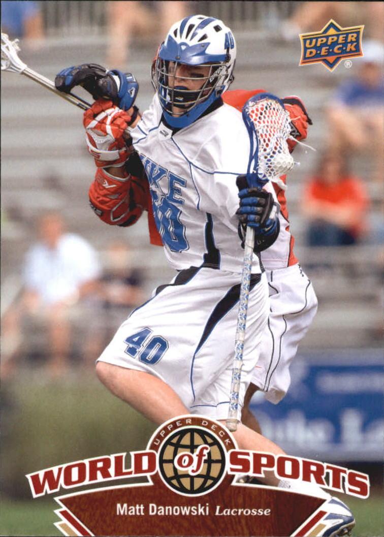 2010 Upper Deck World of Sports #296 Matt Danowski