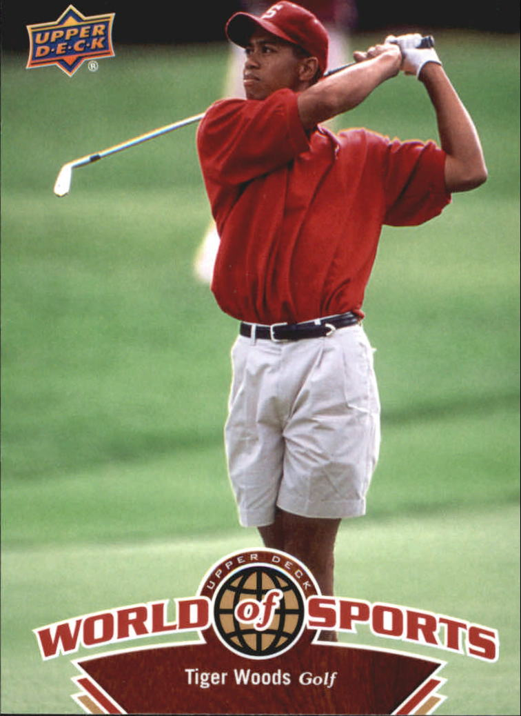 2010 Upper Deck World of Sports #302 Tiger Woods SP