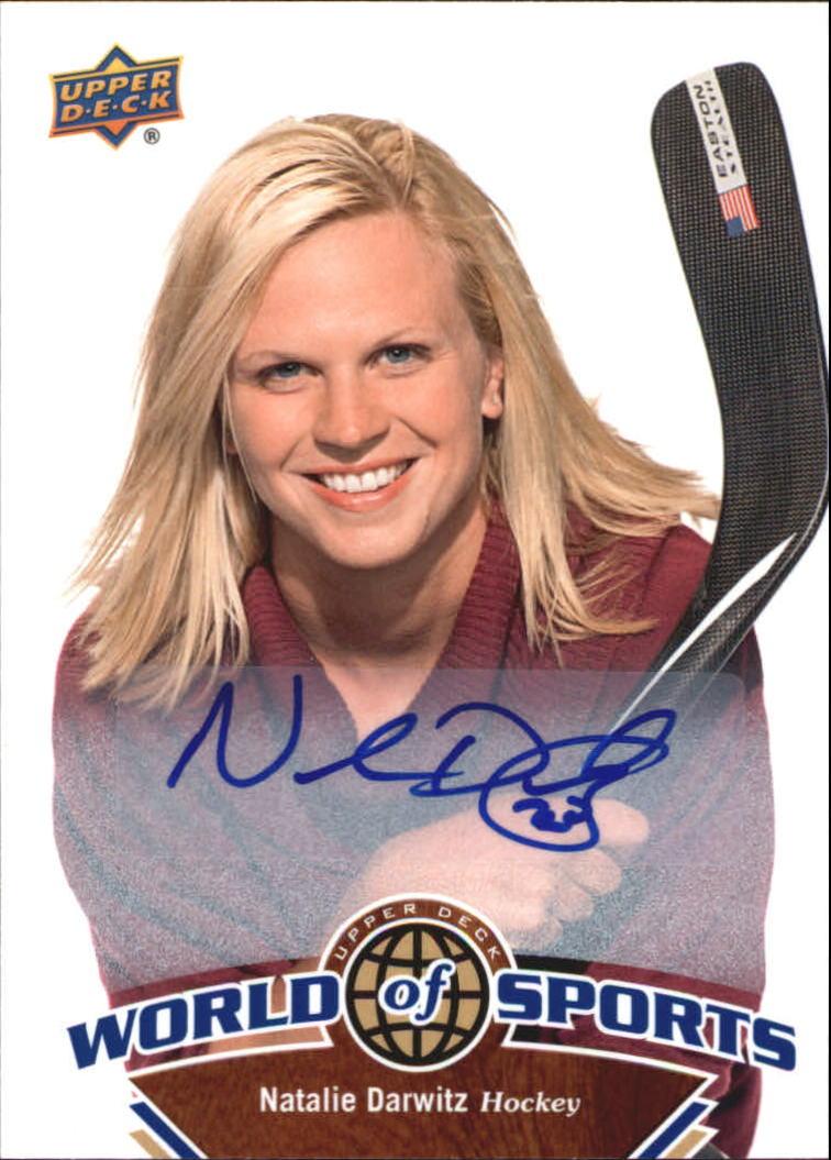 2010 Upper Deck World of Sports Autographs #246 Natalie Darwitz