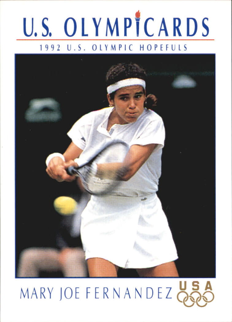 1992 Impel U.S. Olympic Hopefuls #83 Mary Joe Fernandez/Tennis