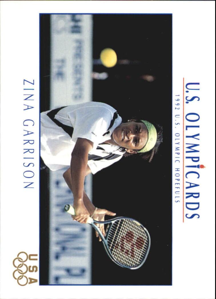 1992 Impel U.S. Olympic Hopefuls #84 Zina Garrison/Tennis