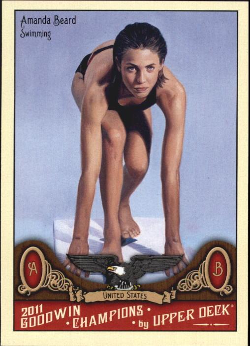 2011 Upper Deck Goodwin Champions #62 Amanda Beard
