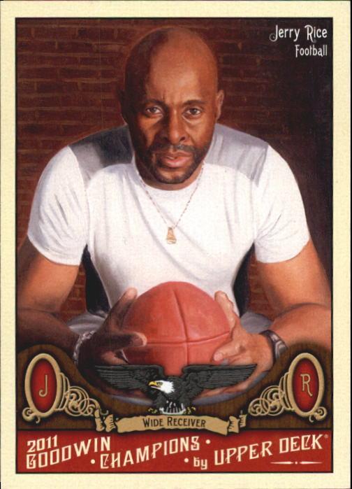2011 Upper Deck Goodwin Champions #83 Jerry Rice