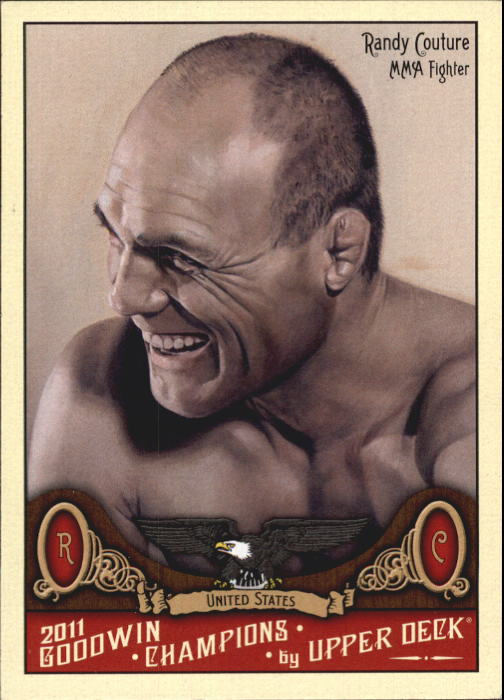 2011 Upper Deck Goodwin Champions #131 Randy Couture