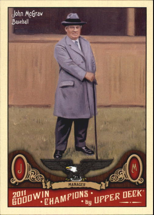 2011 Upper Deck Goodwin Champions #140 John McGraw