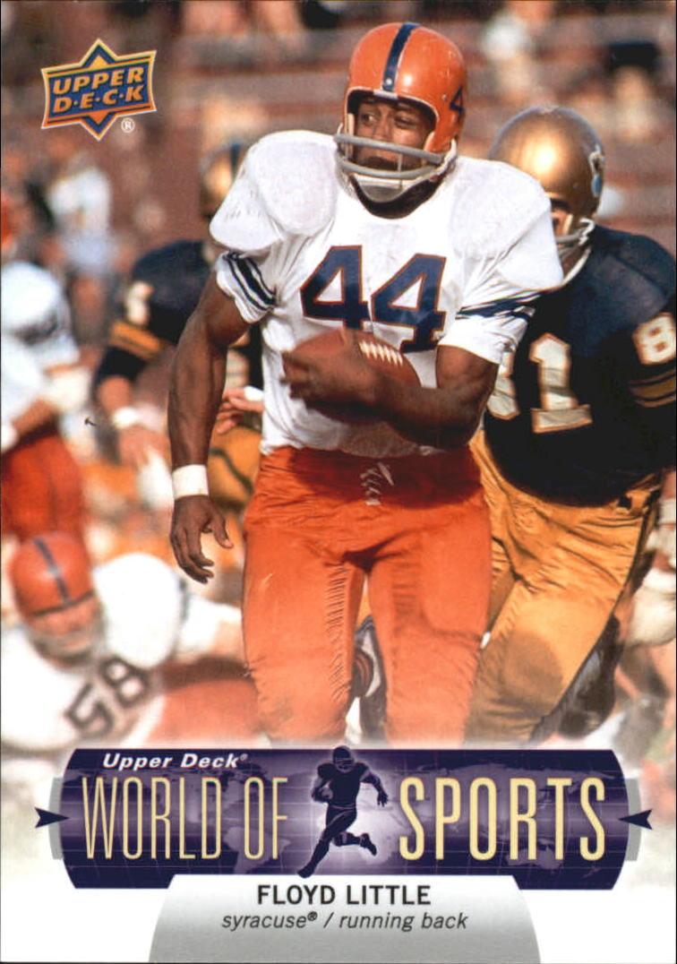 2011 Upper Deck World of Sports #92 Floyd Little