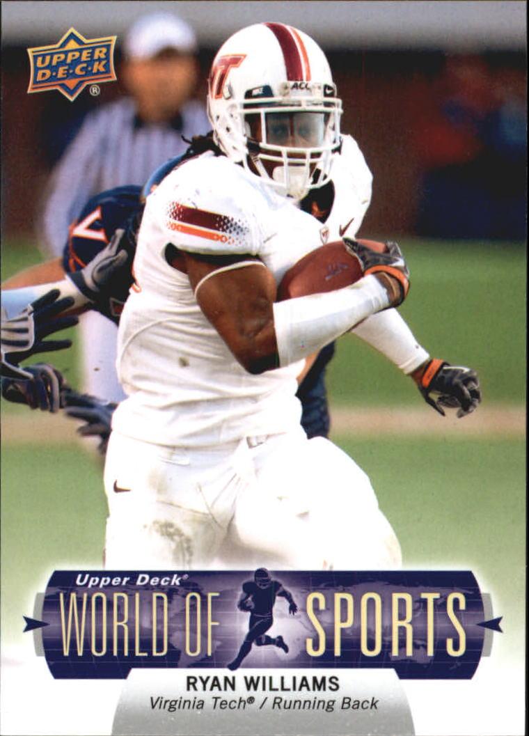 2011 Upper Deck World of Sports #123 Ryan Williams