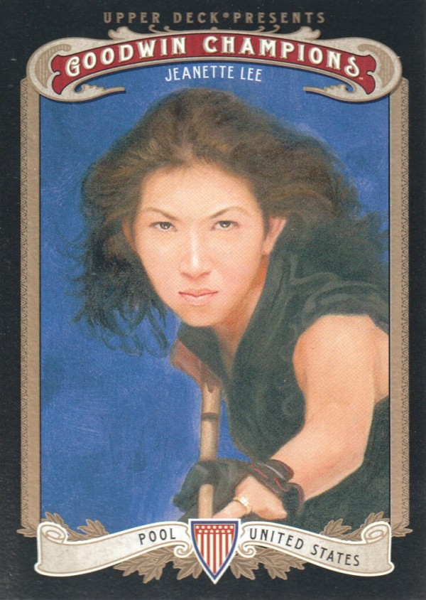 2012 Upper Deck Goodwin Champions #37 Jeanette Lee