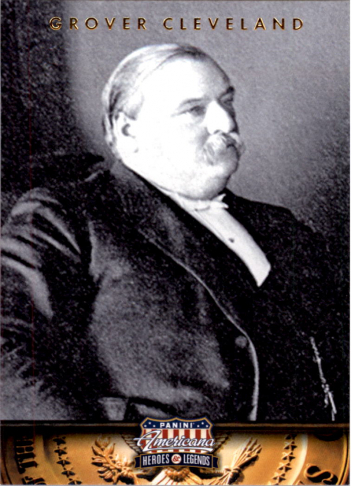 2012 Americana Heroes and Legends #22 Grover Cleveland