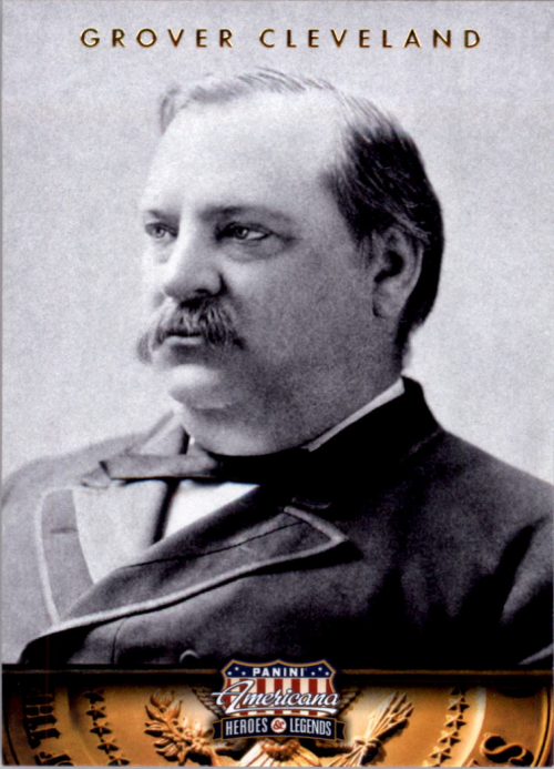 2012 Americana Heroes and Legends #24 Grover Cleveland