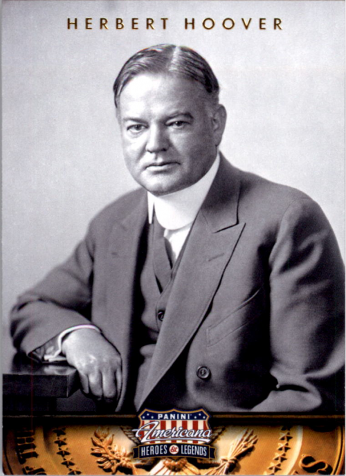 2012 Americana Heroes and Legends #31 Herbert Hoover