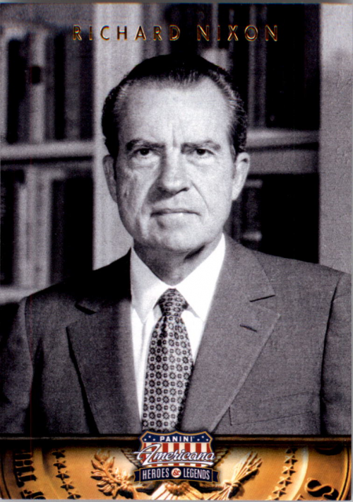 2012 Americana Heroes and Legends #37 Richard Nixon