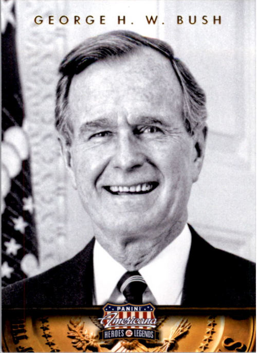 2012 Americana Heroes and Legends #41 George H. W. Bush
