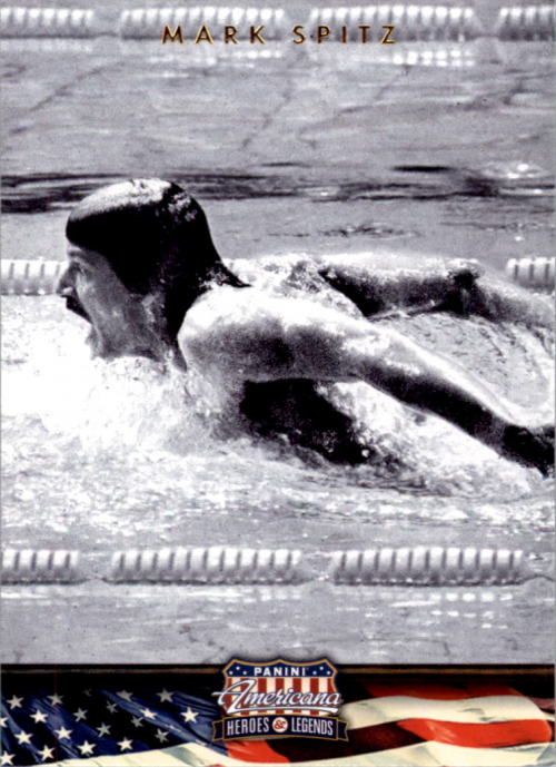 2012 Americana Heroes and Legends #79 Mark Spitz