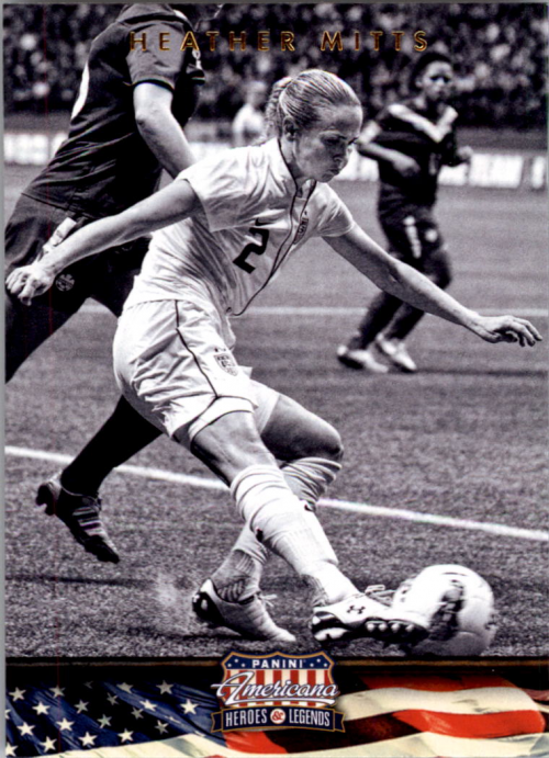 2012 Americana Heroes and Legends #95 Heather Mitts