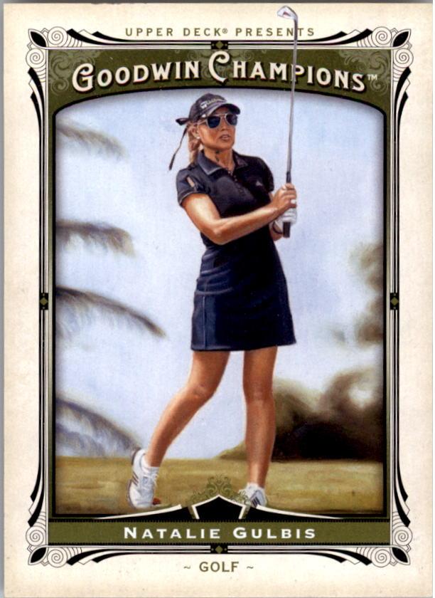 2013 Upper Deck Goodwin Champions #16 Natalie Gulbis