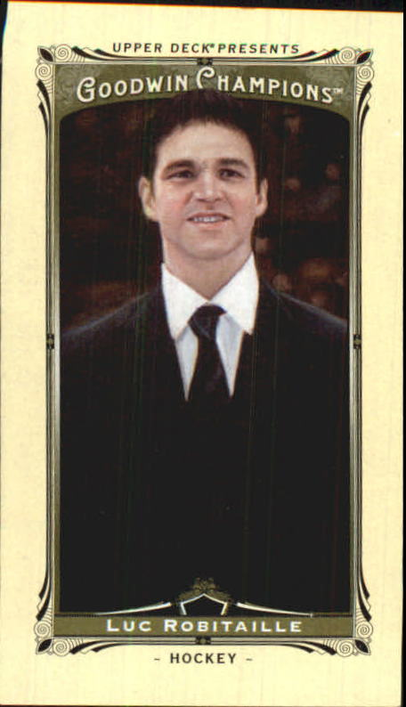 2013 Upper Deck Goodwin Champions Mini #70 Luc Robitaille