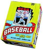 1986 Topps Baseball Wax Box