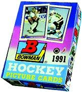 1990-91 Bowman Hockey Hobby Box