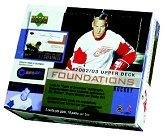 2002-03 Upper Deck Foundations Hockey Hobby Box