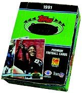 1991 Stadium Club Football Hobby Box
