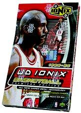 1998-99 UD Ionix Basketball Hobby Box Series 1