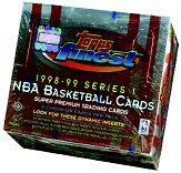 1998-99 Finest Basketball Hobby Box Series 1