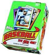 1990 Topps Baseball Hobby Box