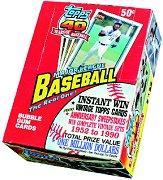 1991 Topps Baseball Hobby Box
