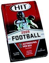 2009 SAGE HIT Football Hobby Box Low Series