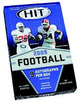 2009 SAGE HIT Football Hobby Box High Series