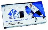 2008-09 SP Authentic Hockey Hobby Box