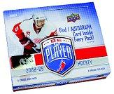 2008-09 Be A Player Hockey Hobby Box