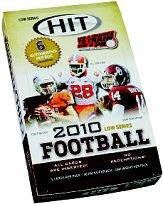2010 SAGE HIT Football Hobby Box Low Series
