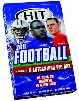 2011 SAGE HIT Football Hobby Box Low Series