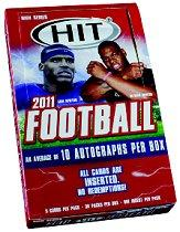 2011 SAGE HIT Football Hobby Box High Series